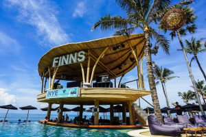 Pool Bar + DJ Stage