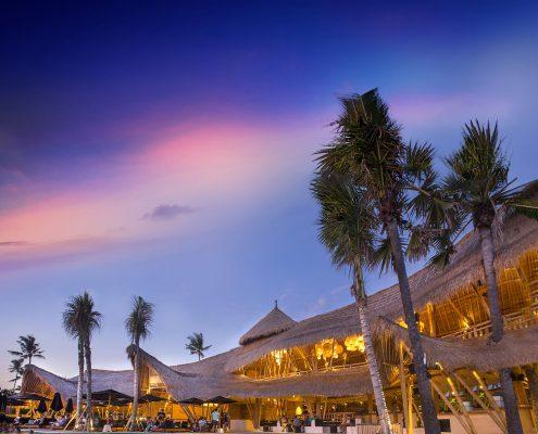 Finns Beach Club Sunset