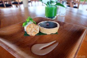 Dark Chocolate Tartlet - Finns Beach Club Bali