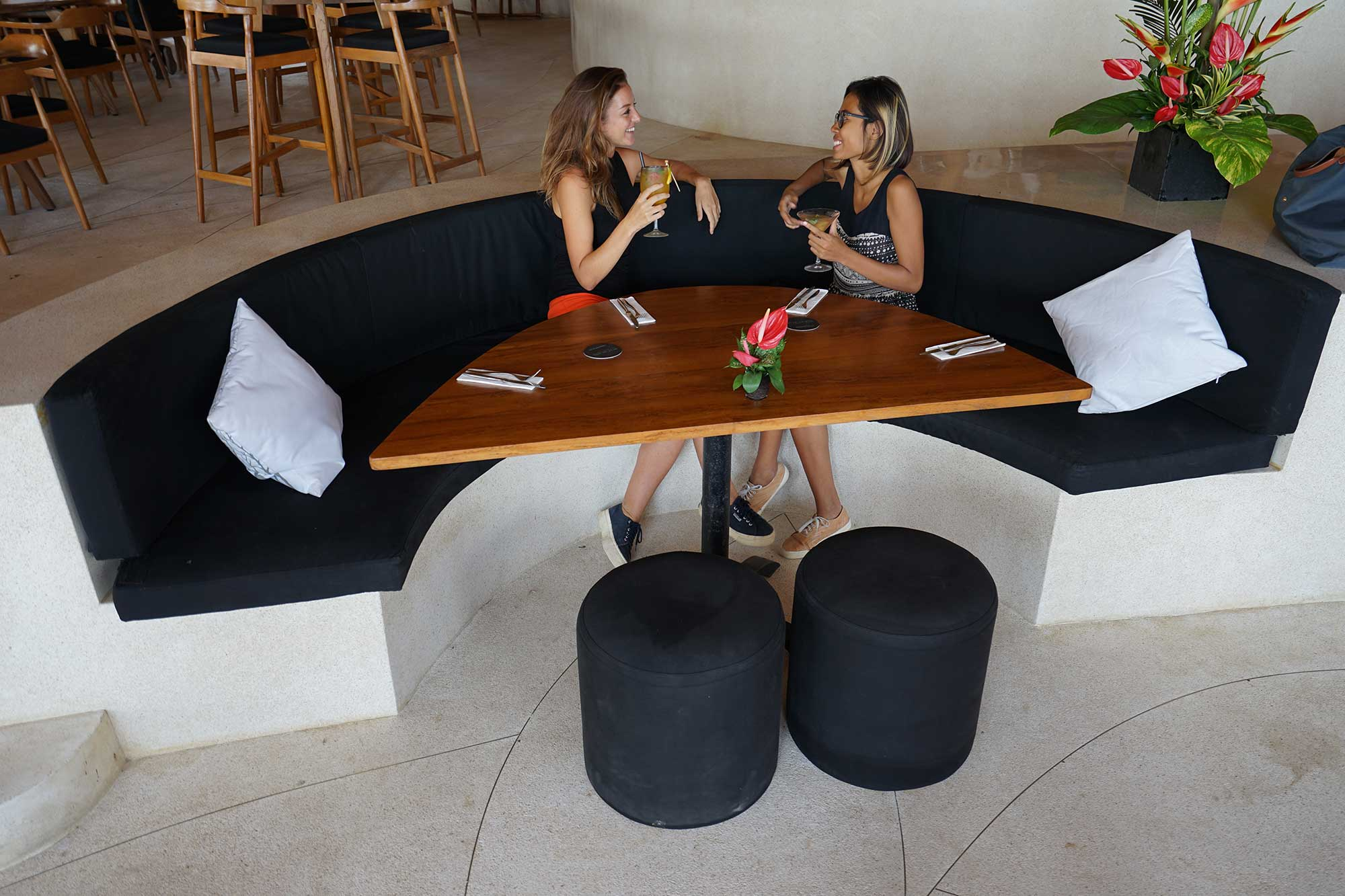 Vip Beds And Booths Finns Beach Club Bali