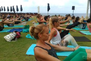 Sunday Yoga On The Lawn