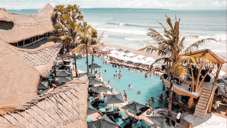 Finns Beach Club - Bali's Best Absolute Beachfront Venue